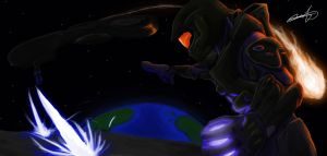 Master Chief does it All! by CrissaegrimDust