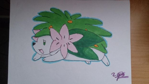 Shaymin by artistic-musician