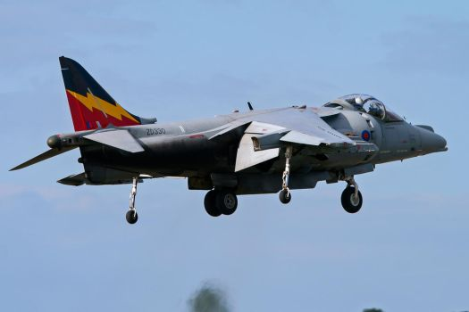 British Aerospace Harrier GR9 by Daniel-Wales-Images