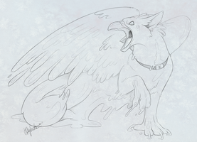 Rage of the blob Gryphon by CunningFox