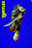 TMNT:: iPhone/ipod touch wallpaper: Leo by Culinary-Alchemist