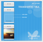 Transparent MIlk player by alxboss