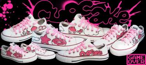 Shoes: Cupcake by GAME-OVER-CUSTOM