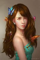 Butterfly beauty by bluerainCZ