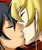 Jack x Yusei - Closeness by KarniMolly