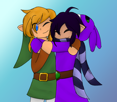 Link and Ravio Hugs by ErIkEe9139