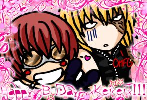 ::BDay Purikura for xKeikeix:: by brecelle