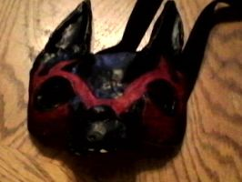 Wolf mask (Finished!) by Everfree999