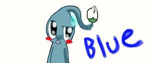 Blue Pikmin by wwiggles
