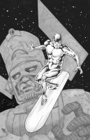 Silver Surfer by Steevcomix