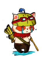 Teemo LoL by P0KEM0NA
