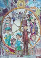 Professor Layton and The Unwound Future by Cloudghost
