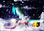 What about christmas in H E A V E N by Keshvel