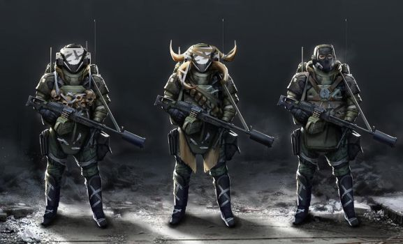 Bandits by StTheo