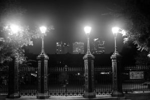 Jackson Square Lights by nwalter