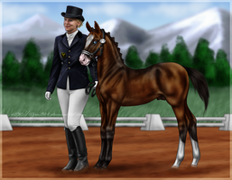 Armands First Competition by Tigra1988