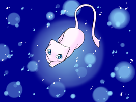 The Legendary Mew by SirLumin