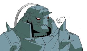 Armored Soul: Alphonse Elric by BloodlustBakura