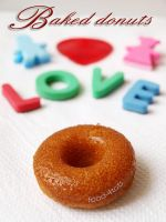 Baked donuts by foodfortots