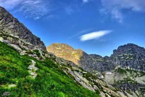 Mountains - Tatry - Zawratowa Turnia by miirex