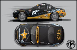 MAZDA MX5 layout by graphicwolf