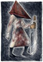 Pyramid Head for Anette by bleuphoria