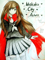 Ayano~ Mekakucity Actors by SakuraNekonessess