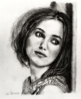 Finished: Keira Knightley by SHParsons