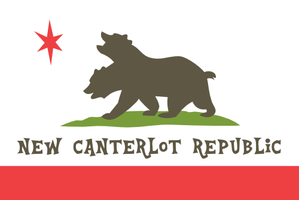 Flag of New Canterlot Republic by MilekHippy