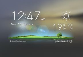 Nature Widget for xwidget by jimking