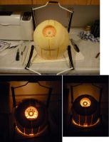 space core jack-o-lantern by yang