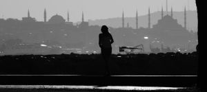 Istanbul Silhouette by TanBekdemir