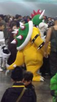 Bowser Cosplay at PRCC 2014 by Obysan