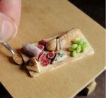 1 12 Scale Charcuterie Board by fairchildart