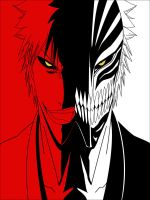 Hollow and Viazard Ichigo by ktownjeff