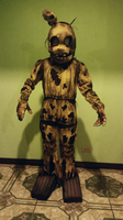 Springtrap suit commission by Estefanoida