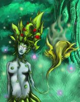 forest fairy improved by Ghostkillah90