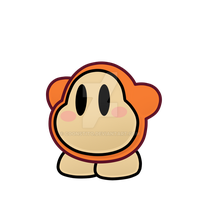 Paper Waddle dee by Coonstito
