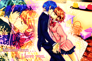 Minato-kun . . . I love you. by smzeldarules