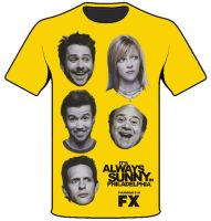 Always Sunny T-Shirt by zolofft1215