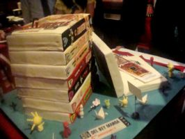 Ace of Cakes Manga Cake by TheSpazOutLoud