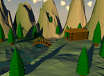 Low poly nature by Euadicavlad