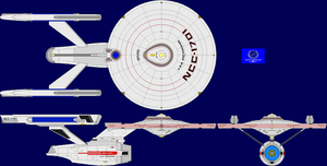 My Rebooted Phase II USS Enterprise by SpiderTrekfan616