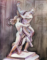 The Rape of Pluto by hollarity