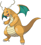 Dragonite Normal Version by Xous54