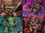 Turtles by sharkie19