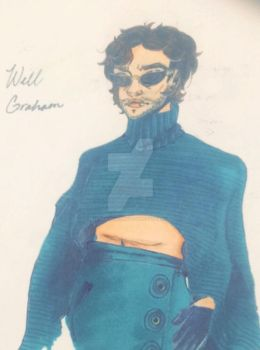 Will Graham in Lady Gaga clothing by Will-grahams-empathy