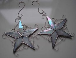 Wish Upon a Star Ornaments by TheGlassMenagerie