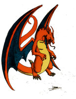 Charizard by Lh0o