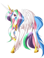 Celestia by Portal-Kitty